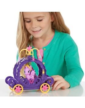 My Little Pony Cutie Mark Magico Personaggio Carrozza Viola Bambina Hasbro