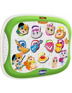 Chicco Gioco Tablet Musicale 44 Gatti 18 36 mesi per più piccoli con 9 pulsanti