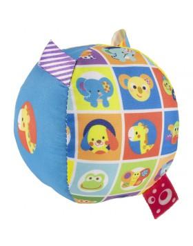 Chicco Palla Musicale Multicolore Morbida palla musicale tessuto effetti sonori