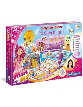 Clementoni Sapientino Mia & Me 20 giochi in 1 Gioco di Società Bambina 132782