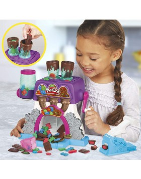 Play-Doh La Fabbrica dei cioccolatini Playset Kitchen Creations con 5 vasetti