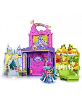 Pinypon Mini Bambole e Play Set Castello delle Regine include molti accessori