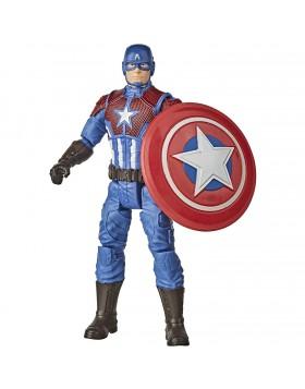 Hasbro Marvel Avengers AVN Game 6IN Figure cap figura di capitan america da 15cm