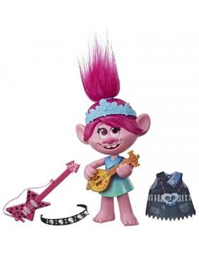 Hasbro Trolls- Trolls World Tour-Poppy Pop/Rock Figurina Multicolore E9411