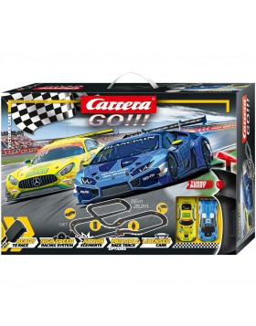 Carrera Toys Carrera GO!!! Pista Lamborghini vs Mercedes 8.6 metri 20062522