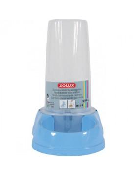 Distributore acqua e cibo antisdrucciolo azzurro 0.65L