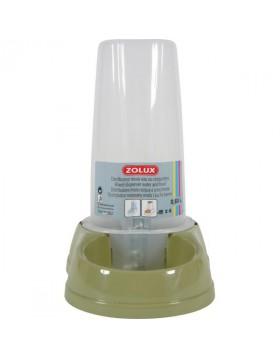 Distributore acqua e cibo antisdrucciolo verde 0.65L