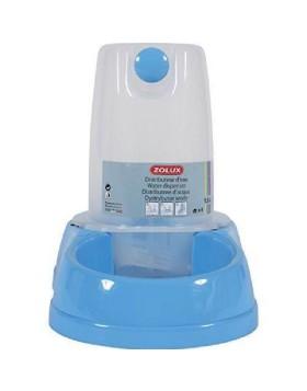 Distributore acqua e cibo antisdrucciolo azzurro 6.5L