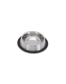 Silver Stripe Steel Bowls ciotola in acciaio 700ml 21cm Imac