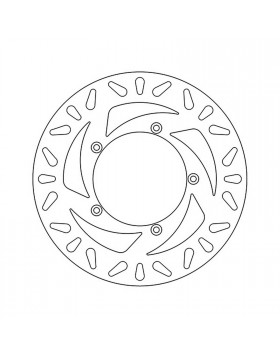 disco freno anteriore newfren per aprilia atlantic e benelli velvet