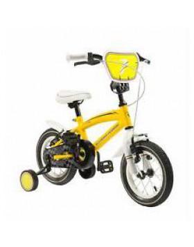 "bici bicicletta mtb bimbo  ferrari 12"" gialla"
