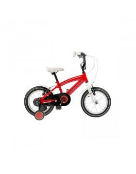 "bici bicicletta mtb bimbo ferrari 14"" red"