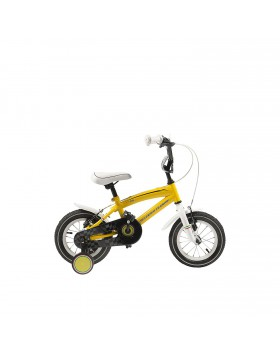 """bici bicicletta bambino mtb """"14 ferrari gialla"""