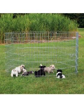 Recinto per cuccioli e roditori con porta 8 elementi da 61×91 cm TRIXIE