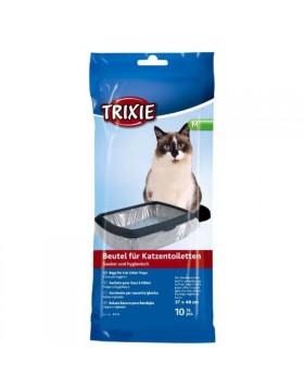 Sacchetti per cassetta igienica lettiera gatto M 37x48 cm 10PZ TRIXIE