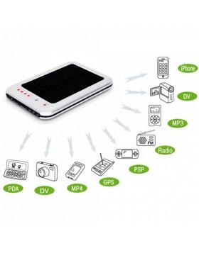 CARICA BATTERIE BATTERIA UNIVERSALE PER CELLULARE ENERGIA PANNELLO SOLARE MP4 USB PDA IPHONE