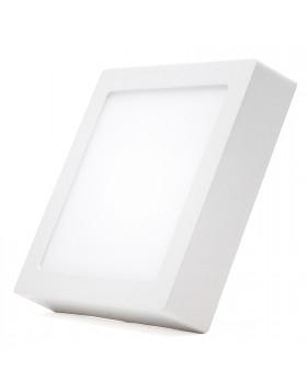 Plafoniera Faretto Pannello Soffitto Led Luce Calda 12 W Quadrato Senza Incasso