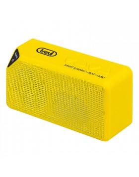 CASSA PORTATILE MINI ALTOPARLANTE CASSE BLUETOOTH RADIO LETTORE MP3 GIALLO TREVI