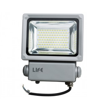 Faretto Faro Led GH1 50 Watt 4500 Lumen per Esterno Luce Bianca Naturale LIFE