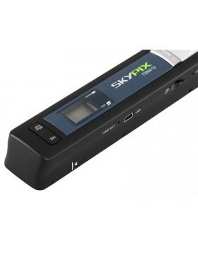 SCANNER PORTATILE A4 SENZA FILI 900 DPI SKYPIX SCAN USB LCD MICRO SD PC NOTEBOOK