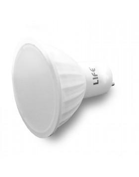 LAMPADA LAMPADINA FARETTO A LED ATTACCO GU10 LUCE NATURA NATURALE 5 WATT LIFE