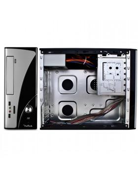 MINI CASE MICRO ATX PER PC DESKTOP COMPUTER CON ALIMENTATORE DA 500 WATT VULTECH