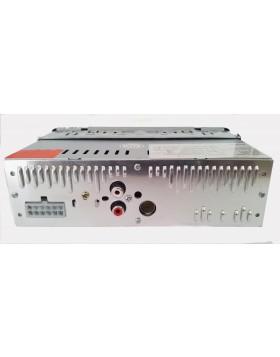 STEREO AUTO AUTORADIO FRONTALINO ESTRAIBILE TELECOMANDO SLOT SD CARD USB MP3 LCD