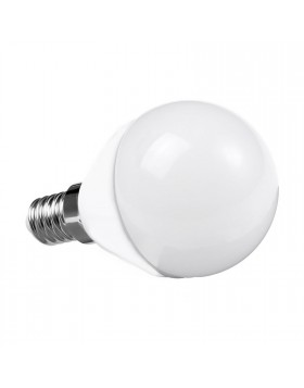 Lampada Lampadina E14 LED SMD LIFE 5W Minisfera P45 Luce Calda 310 LUMEN