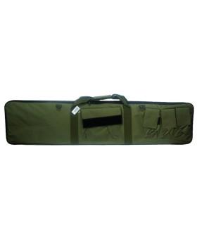 Custodia Borsa Trasporto per Fucile Softair Caccia Verde 130x30 cm con Cinghia