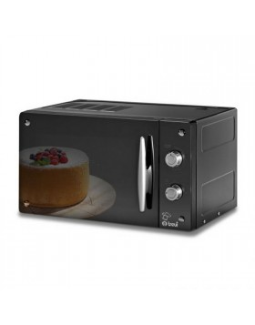 Forno microonde Trevidea Cottura 20 lt Combinato Chef Design Nero Grill Fornetto
