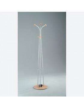 Piantana Moderna Classica Design Attaccapanni Appendiabiti Faggio