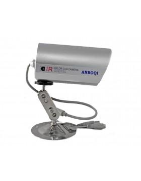 TELECAMERA VIDEOSORVEGLIANZA INFRAROSSI NOTTURNA 36 LED CCD COLORI ESTERNO 6mm