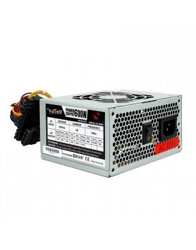 Alimentatore per PC Case Computer Micro ATX 600 Watt Bulk Vultech Ventola 8cm