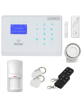 Sistema Antifurto Allarme Casa Kit Wireless Senza Fili GSM TOUCH GARANZIA ITA