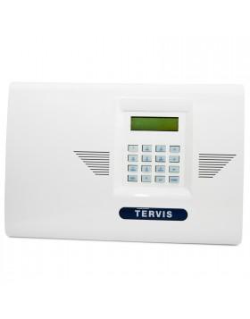 Kit Centrale Antifurto Allarme Tervis Radio WIFI Senza Fili Wireless