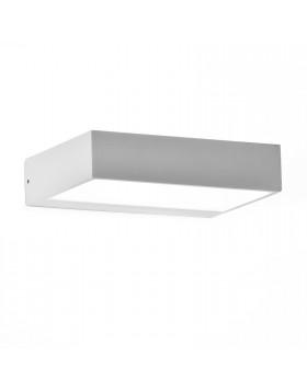 Lampada da parete Applique Metallo LED Luce bianca Arredo Muro Spot 20x14x4,5 cm