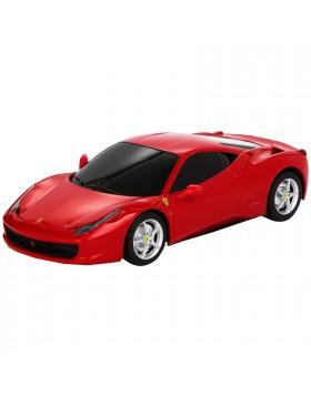 Auto Macchina Elettrica R/C Radiocomandata per Bambino Ferrari 458 ITALIA