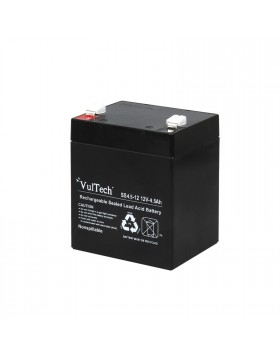 Batteria Ricaricabile Al Piombo Di Ricambio VULTECH 4,5 AH Gruppi di Continuita