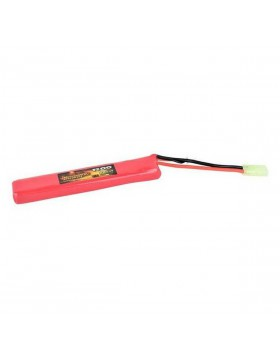 Batteria Softair Large Version 7,4V Scarica da 25 C 1200 Mah Sport Gioco 65 gr