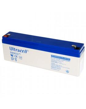 Batteria Ricaricabile Ermetica Tampone al Piombo 12 Volt 2.4A