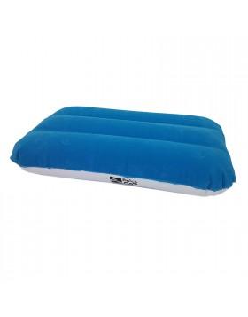 Cuscino floccato bicolore per casa Camping Montagna Piscina 50x34 cm Gonfiabile