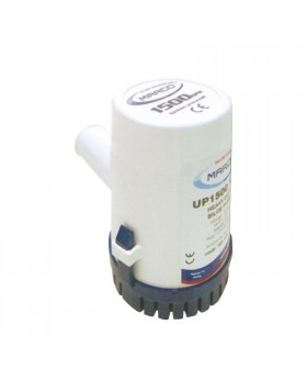 Pompa ad immersione Sentina Travaso acqua 1500 gph Antiurto 12v Elettropompa ABS