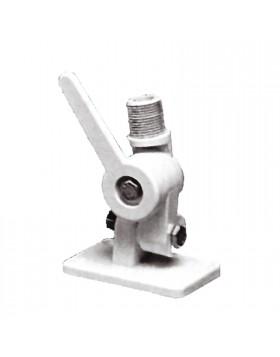 Base a snodo per antenna Antenne GPS Con bloccaggio cremagliera Colore bianco