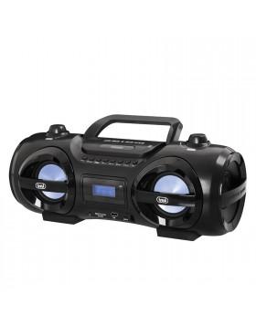 Boombox Radio LCD Altoparlante Altoparlanti con Led Multicolor Aux in FM Trevi