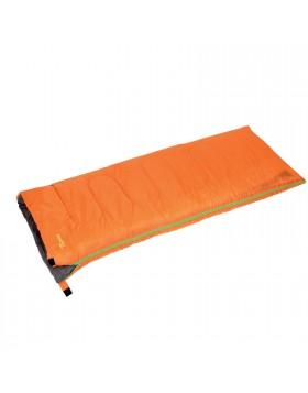 Sacco a pelo 190x75 cm Saccoletto Cotone Per montagna Easy Cotton Orange Berto