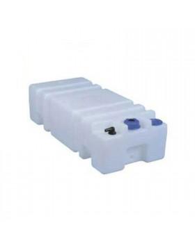 Serbatoio Recipiente per acqua Plastica Bianco 45 lt 50x35x30 cm Gommone Barca