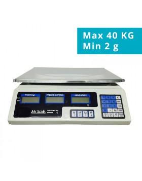 BILANCIA ELETTRONICA DIGITALE PROFESSIONALE DA 5 GRAMMI MAX 40 KG A BATTERIA NEW
