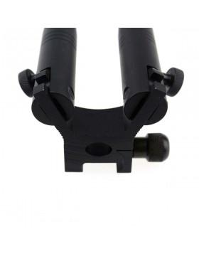 Bipiede Softair Pieghevole con Attacco Waver 21 mm Well
