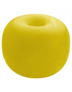 Boa da segnalazione accessori nautica con foro passante mm 260 giallo