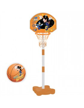 Canestro Tabellone Basket da Esterno Mickey Mouse Mondo SUPERBASKET STAND